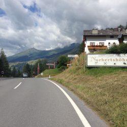 Rennradtour Reschen - Brenner: Norbertshöhe