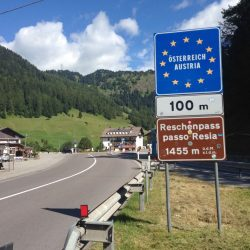 Rennradtour Reschen - Brenner: Reschenpass