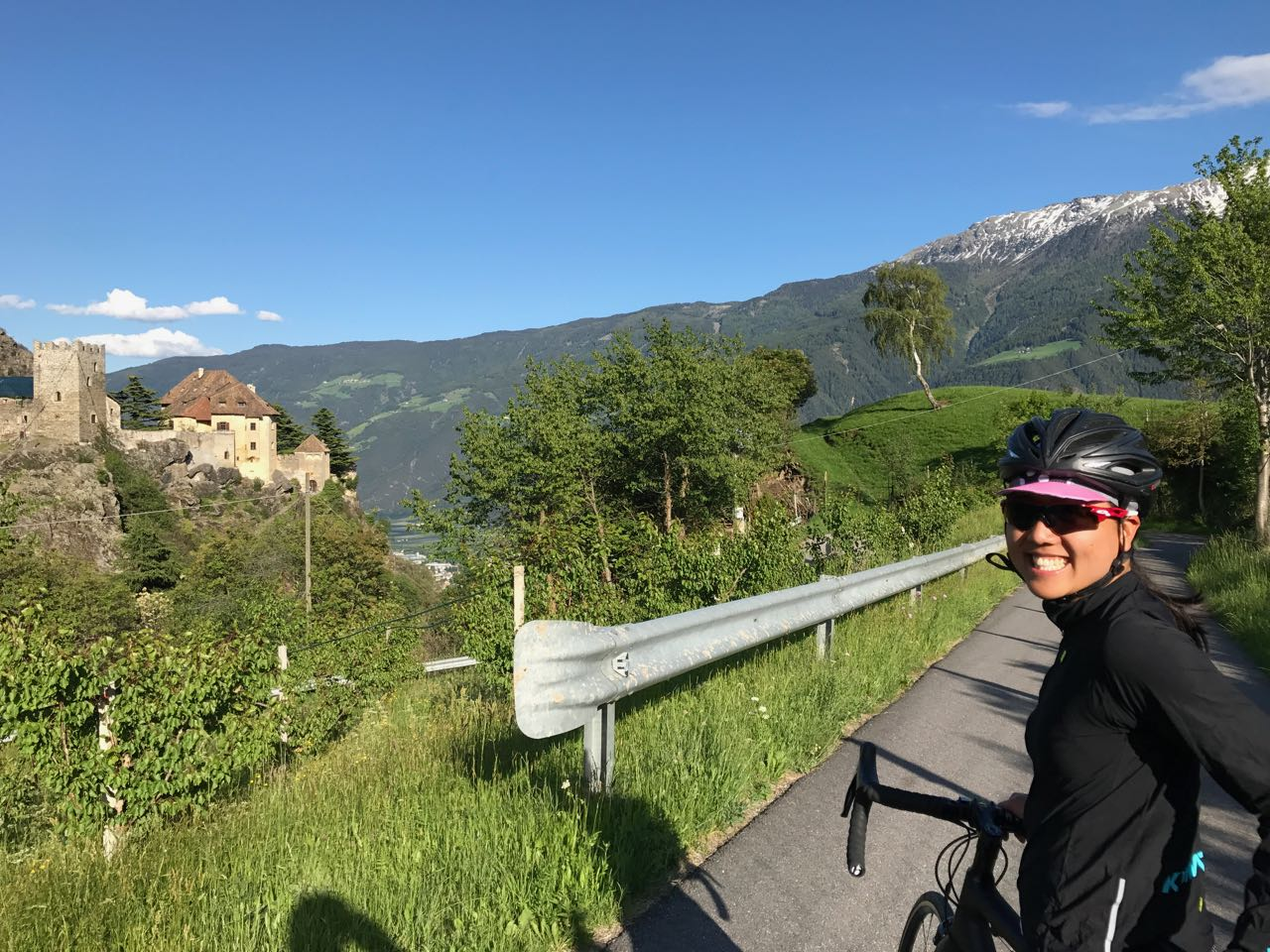 Rennradtour Vinschgau / Burg Juval