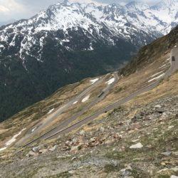 Rennradtour Passo Rombo / Downhill