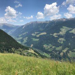 Rennradtour Passeiertal / Aussicht zum Jaufenpass