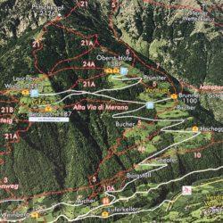 Rennradtour Passeiertal / Kartenübersicht