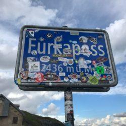 Rennradtour Sanremo - Bolzano: Furkapass (2436m)
