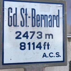 Rennradtour Sanremo - Bolzano: Grand St. Bernard