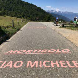 Rennradtour Sanremo - Bolzano: Ciao Michele