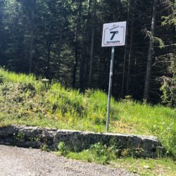 Rennradtour Sanremo - Bolzano: Mortirolo Kehre 7