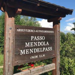 Rennradtour Sanremo - Bolzano: Passo Mendola (1363m)