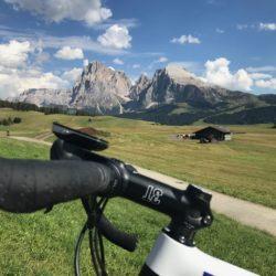 Rennradtour Panidersattel - Seiseralm / Langkofel / Plattkofel