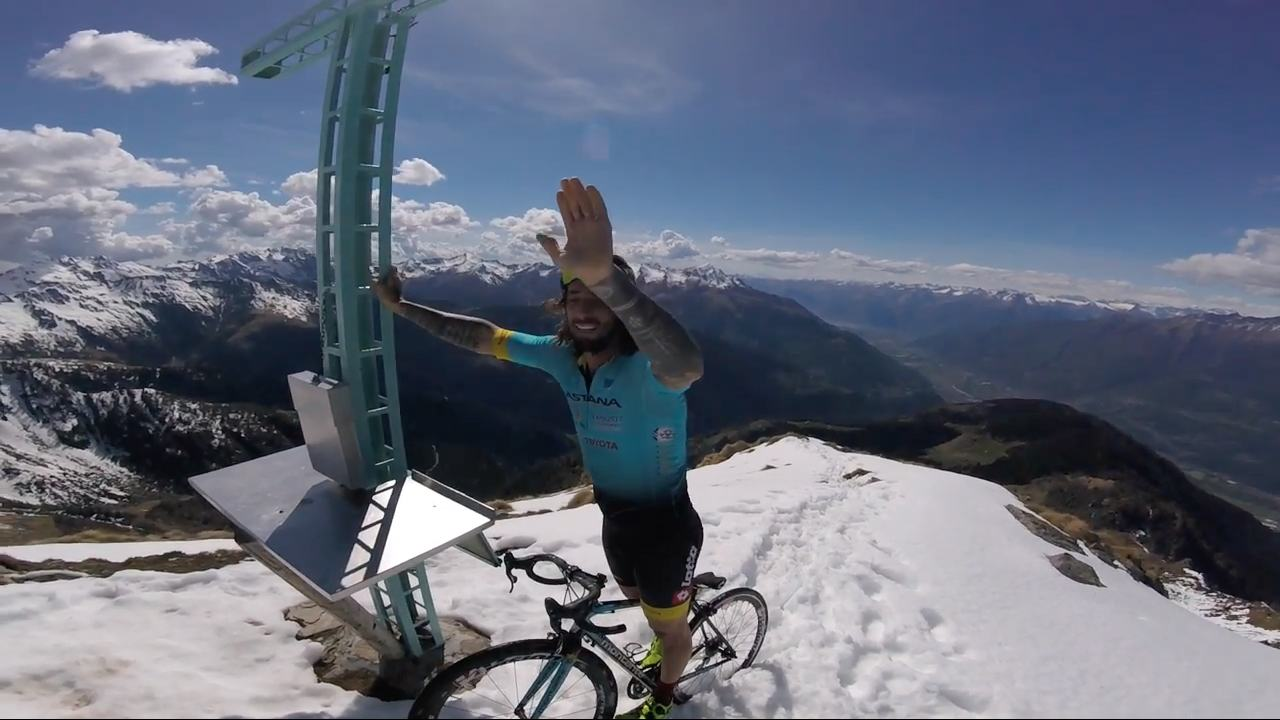 "Video Brumotti ""Summit on Road bike"""